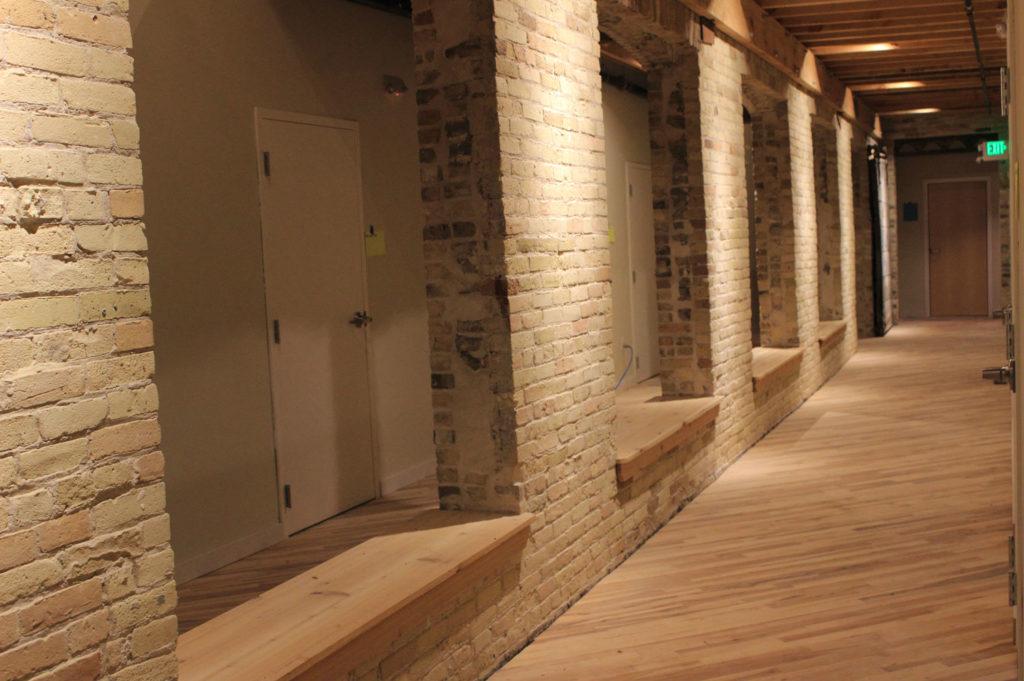 Beam House Hallway