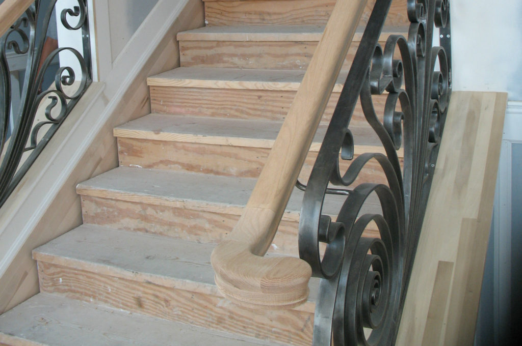 Residential Brown Staircase 1