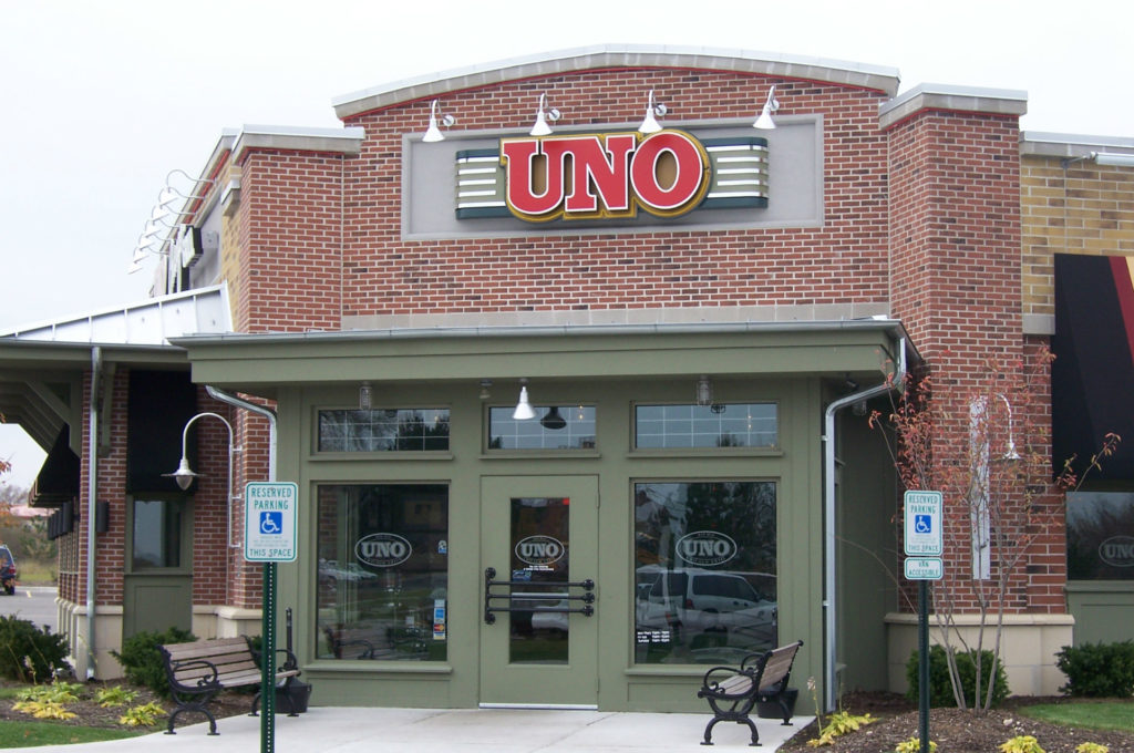 Uno Chicago Grill Store Front 1