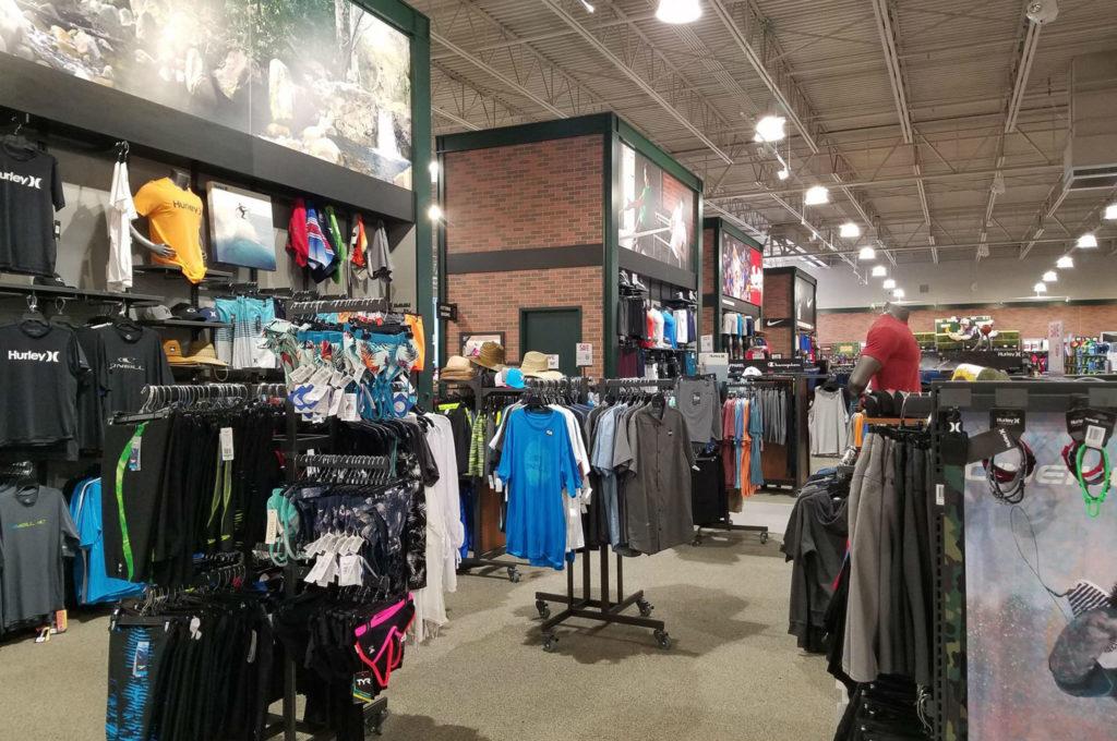 Dicks Sporting Goods Inside Store