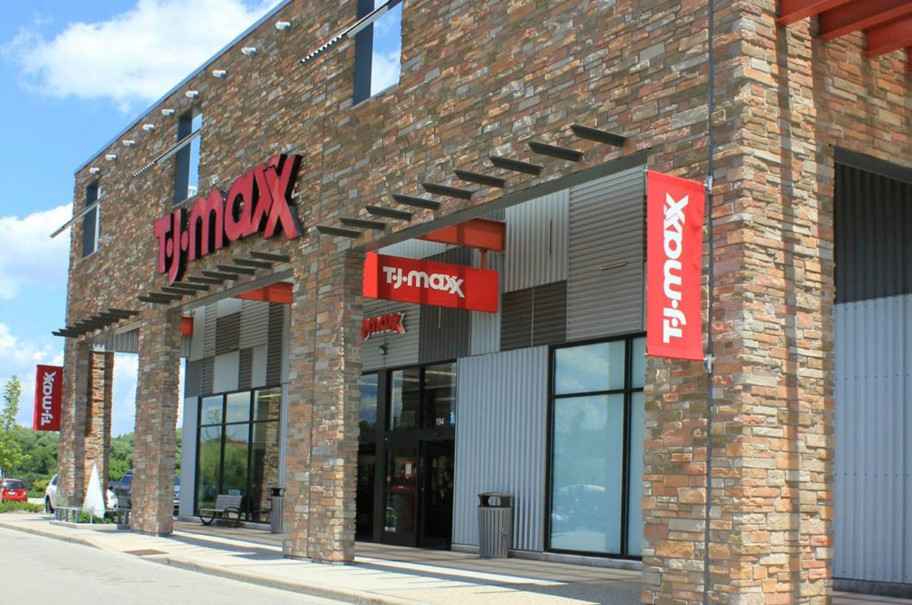 TJ Maxx Store Front 3